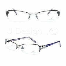 Swarovski AFFAIR SW 5022 012 Crystal Eyeglasses Rx Made Italy - New Authentic