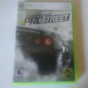 Need for Speed: ProStreet (Microsoft Xbox 360, 2007) Complete CIB Tested