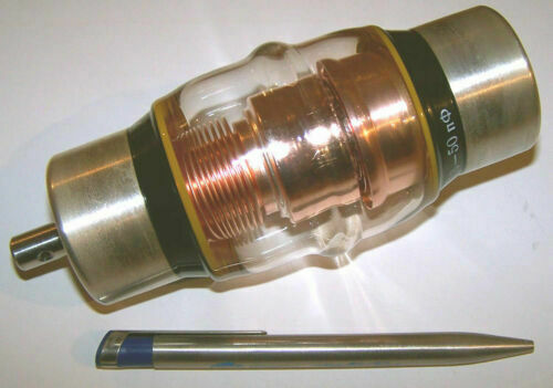 Vacuum Variable Capacitor 3 - 50pF 40kV (25kV - nom) New (Tuner,Trimmer). Available Now for 129.50