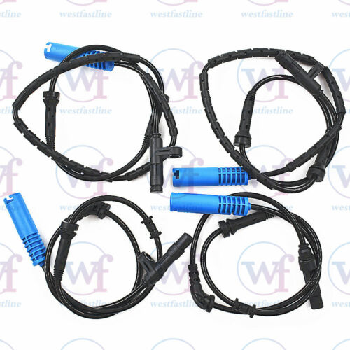 4 Pcs ABS Wheel Speed Sensor Fit for MINI Cooper R50 R52 R53 Front/&Rear