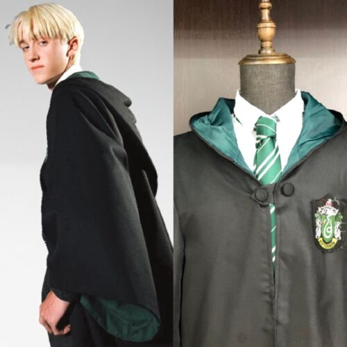 Cape Jubah Cosplay Harry Potter Gryffindor Slytherin Hufflepuff Ravenclaw