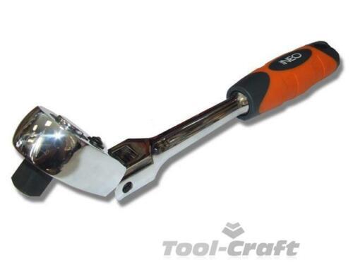 "Neo professional 1//2/"" flexible ratchet handle reversible 72T gear Neo 08-519"