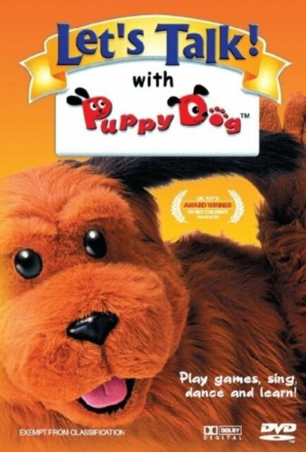 Let's Talk! with Puppy Dog (DVD, 2007)--free postage    (RARE