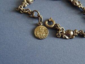 medaille-religieuse-Vintage-Bracelet-Roses-Maries-in-boat-13-5-cm-MR-094