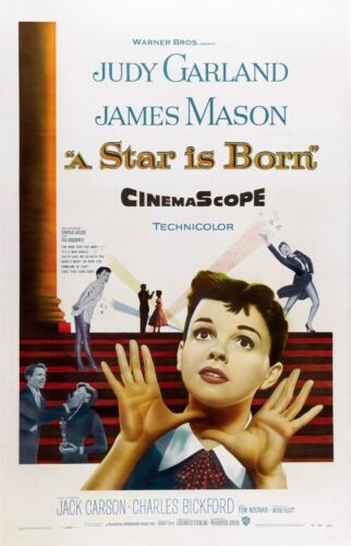 A STAR IS BORN JUDY GARLAND POSTER FILM A4 A3 A2 A1 LARGE FORMAT CINEMA MOVIE