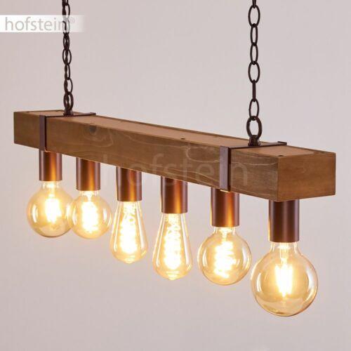 Vintage Pendel Hänge Lampen Ess Wohn Schlaf Zimmer Raum Beleuchtung Holz//Rost