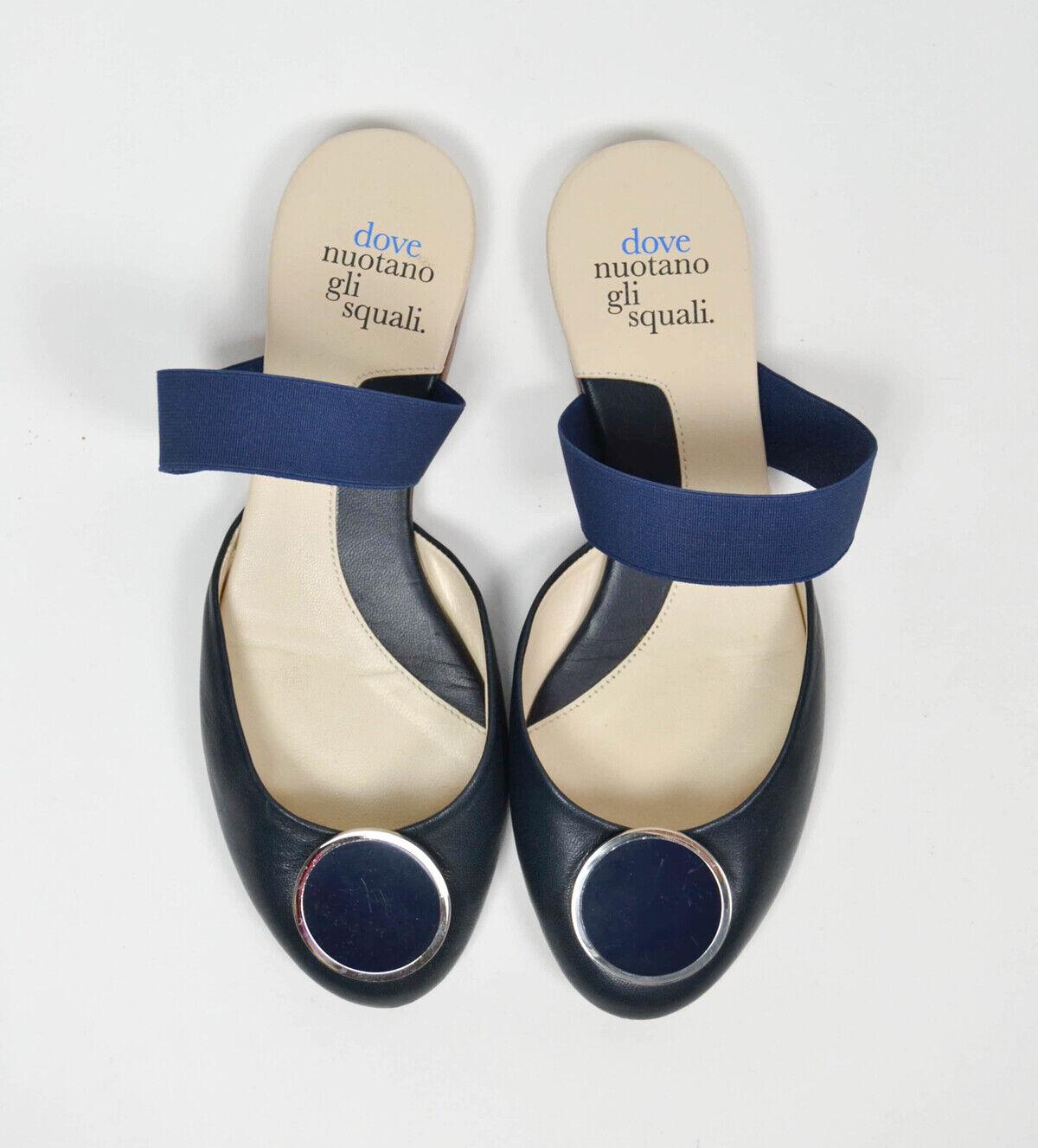 Chaussures chaussures DOVE NUOTANO GLI SQUALI, numero 35, bleu