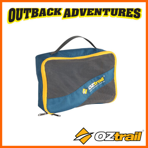 OZtrail TRAVEL BAG SMALL NAVY CAMP STOARGE PACKING CUBE CAMPING