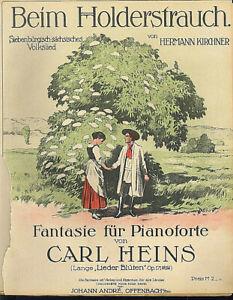 034-Beim-Holderstrauch-034-Hermann-Kirchner-alte-Noten-uebergross