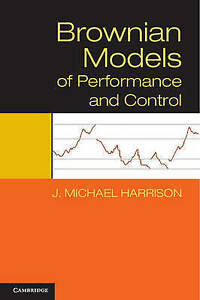 Brownian-Models-of-Performance-and-Control-by-Harrison-J-Michael-NEW-Book-FR