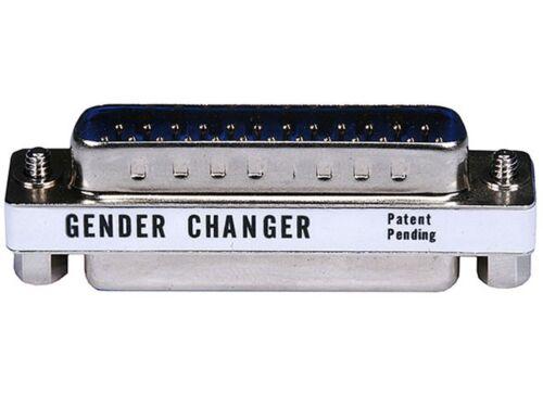 DB25 DB 25 pin D Sub Male to Female Mini Port Saver Coupler Adapter Converter