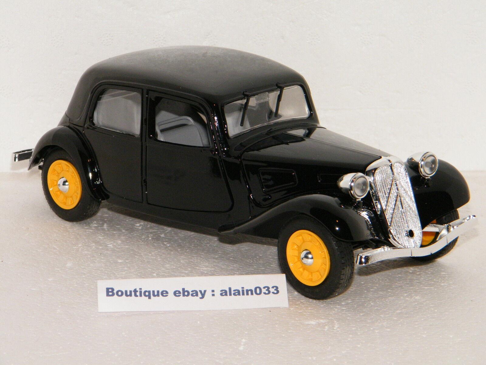 CITROËN TRACTION 11 LEGERE BERLINE schwarzE ELIGOR 1 20 Ref 160016  MADE IN FRANCE