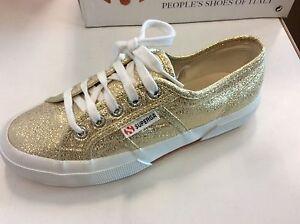 Superga 2750 LAMEW ORO Oro mod. 2750174 Sneakers moda col gold