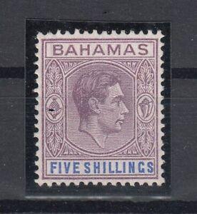 C2671-BRITISH-BAHAMAS-SG-156a-MINT-MH-CERTIFICATE-CV-6800