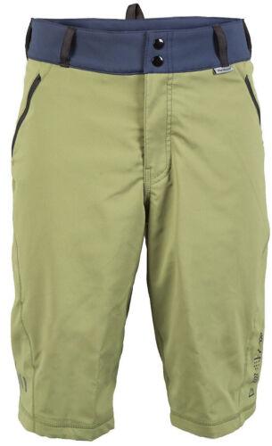 Olive Fasthouse Crossline Mens MTB Shorts