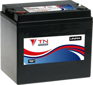 12V-33Ah-Lithium-Batterie-a-Decharge-Profonde-Pour-Mobilite-et-Golf-LiFePO4