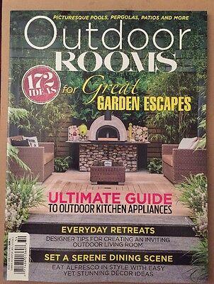 Outdoor Rooms Garden Escape Ideas Ultimate Guide Summer 2015 FREE SHIPPING!