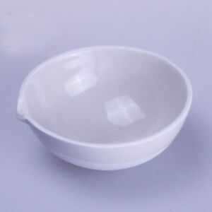 50ml Ceramic Evaporating dish Round bottom with spout For ...
