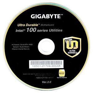 Details zu Original Gigabyte Mainboard Treiber CD DVD Ultra Durable Intel  100