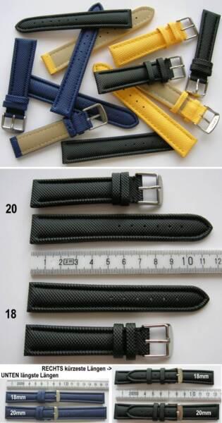 - Nylonuhrenarmband Waterproof Wasserfest Farben + Breitenwahl 18, 20, 22, 24 Mm SorgfäLtige Berechnung Und Strikte Budgetierung
