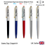 PERSONALISED-ENGRAVED-PARKER-GALAXY-PEN-BALLPOINT-GIFTBOX-BLACK-BLUE-RED-SILVER thumbnail 2