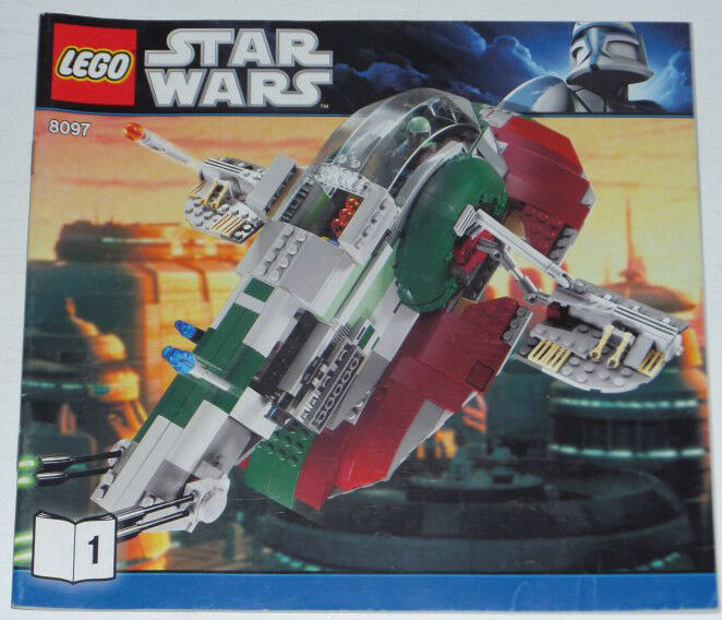 Lego Star Wars Slave I (3rd edition) 8097 inkl. OBA (ohne Box)