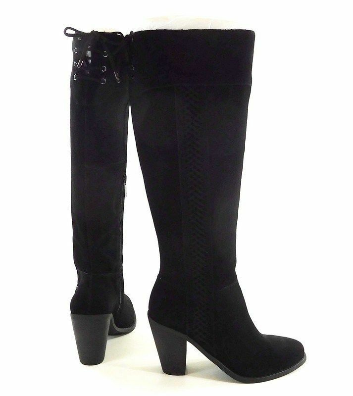 JESSICA SIMPSON @ REAL NEXT SIZE UK 4 CIARAH BLACK REAL @ SUEDE KNEE LONG Stiefel a1ce44