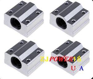 4pc-SC8UU-SCS8UU-8mm-Linear-Ball-Bearing-Linear-Motion-Bearing-Slide-For-CNC-M22