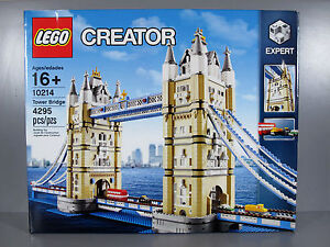 Image is loading Brand-New-LEGO-Exclusives-and-Treasures-Tower-Bridge-