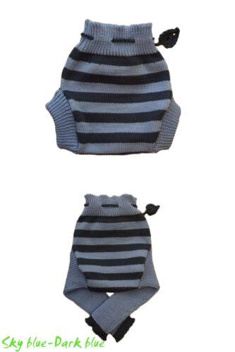 Gestreiftes Wollwindelhose MERINO WOLLE baby kinder überhose wollhose leggings