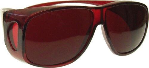 10 Colors Glasses FITS OVER Prescription glasses Sun Color Therapy