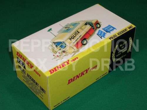 Dinky #287 Unidad de accidentes de tránsito de la policía-Caja de reproducción por drrb
