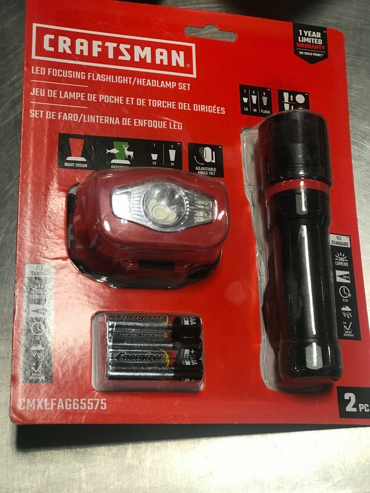 New Craftsman cmxlfaf 5-350 LM DEL Portable Lampe de Poche