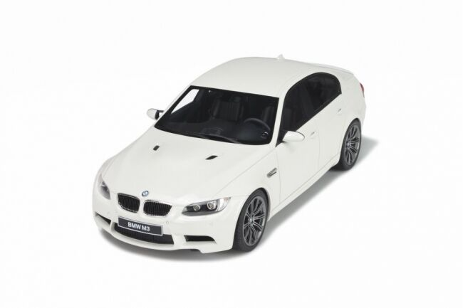 GT Spirit 2008 BMW M3 White LE 1750 pcs 1 18 GT053Last One-RARE