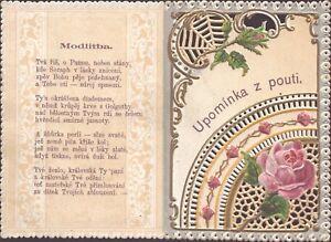 Maria-Svaty-Kope-ek-Moravia-Wallfahrt-Cuadro-Santos-Amria-Koloriert-B-5155