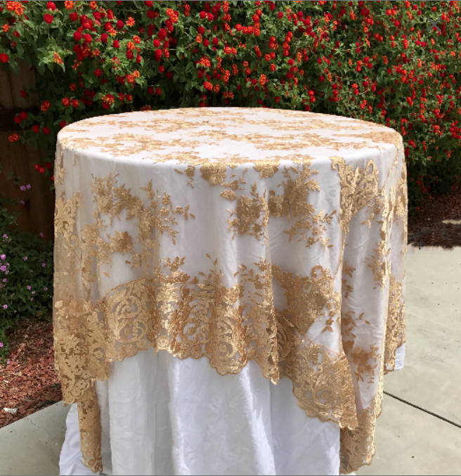 Dentelle Nappe De Table Overlay Mariage Décor Vintage Table Cloth Sweetheart Table