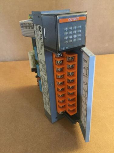 AB SLC-500 MODULE 1746-OW16 SER B