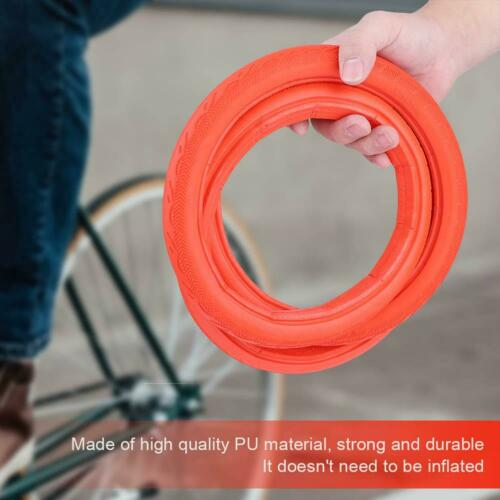 Road Bicycle Tire Solid Tube Explosion-Proof Tire Fixed Gear 24*1 3//8 Sturdy