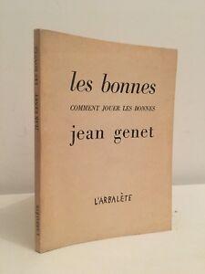 Jean-Genet-Las-Terminales-amp-Como-Jugar-Las-Buenas-Marc-Barbezat-1963