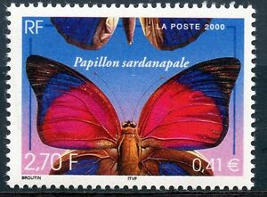 STAMP-TIMBRE-FRANCE-NEUF-N-3332-FAUNE-PAPILLON