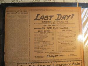 Arizona History Newspaper 1910 FAMOUS PROSPECTOR NAMED TOMBSTONE PIONEER