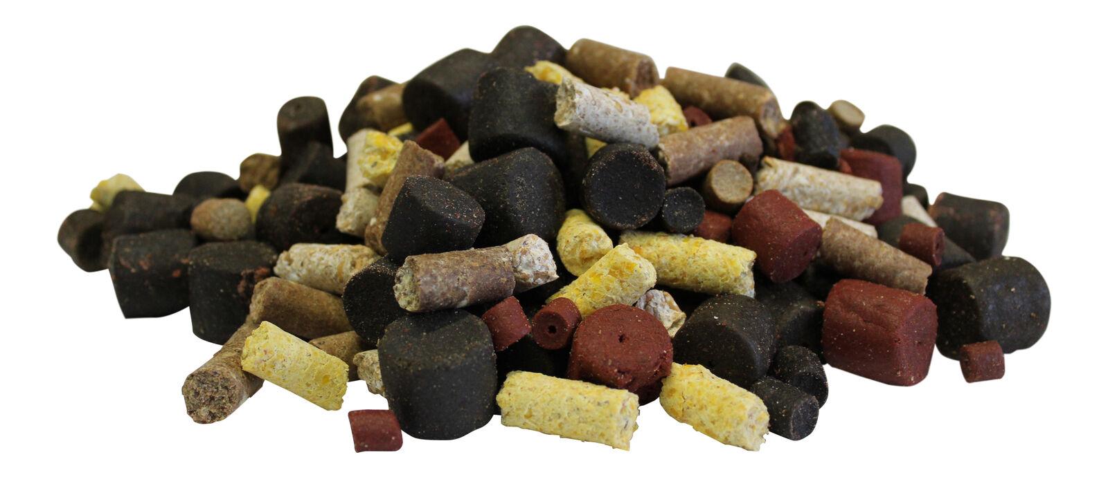 3,00 EUR  kg fletán & Alimentación PELLET MIX 10kg Hipogloso pellets