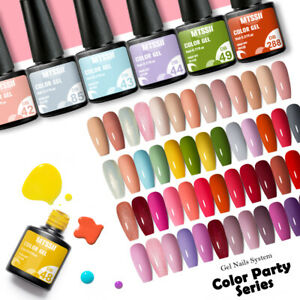 244 Colors MTSSII Nail Art Summer Gel Nail Polish Soak-off Manicure UV/LED 6ml