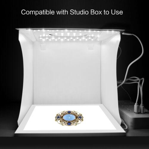20cm//8 pulgadas LED luz de video foto fotografía Panel sin sombra Softbox inferior 25