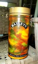 Baileys Irish Cream Metal Collectible Collector Tin 1993 Hinged Lid w/Latch