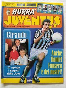 HURRA-039-JUVENTUS-N-7-LUGLIO-1997-FASCICOLO-MICHAEL-LAUDRUP-FONSECA-GIRAUDO