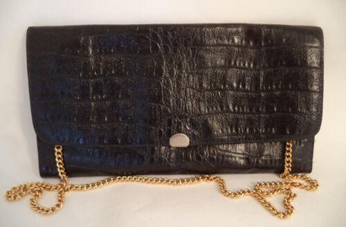 à imprimé bandoulière noir cuir en ou croco Sac bandoulière à wIg18wq