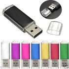 HOT 1GB-32GB USB 2.0 Metall-Flash-Speicher-Stick Speicher Thumb U Scheibe Simple