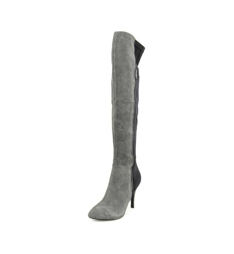 Carlos Santana Over The Knee Suede Boots