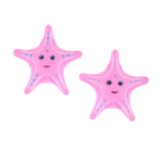 2Pcs Childs Kids Water Starfish Floating Bath Time Fun Toy Education Toy PinYNUV